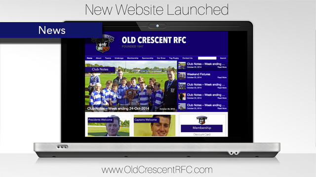 New Old Crescent RFC Website