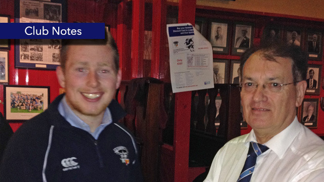 Old Crescent RFC - Marty Ryan - Club Notes