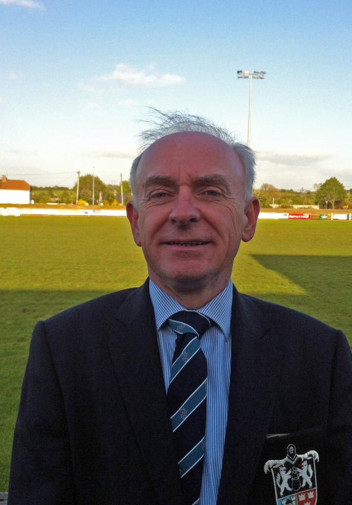 Ger McNamara, President, Old Crescent RFC, 2015-16