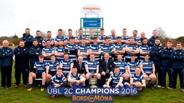 Old Crescent RFC - UBL 2C Champions 2015/2016